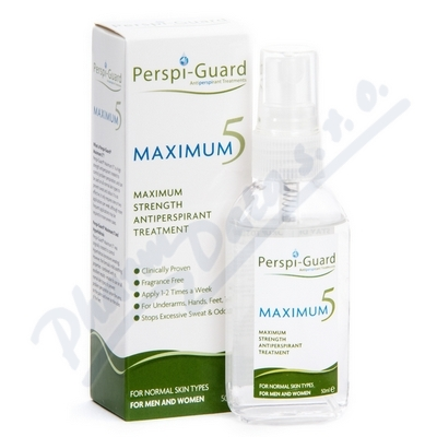 Perspi-Guard Antiperspirant Maximum 5 50ml
