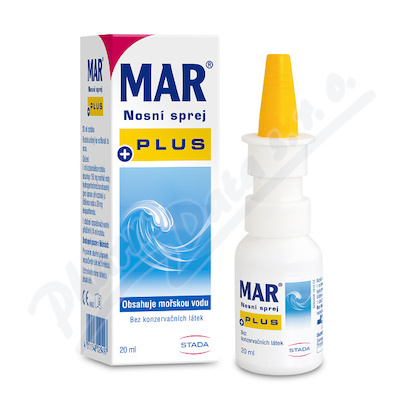 MAR Plus Nasenspray 20ml moř.voda s dexpanth.3%