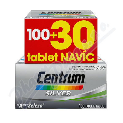 Multivitamin Centrum SILVER 100+30tbl